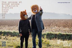 Groupe Deja bonne annee 2020 theatre lazennec