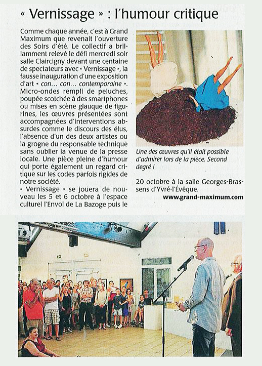 presse-grand-maximum-vernissage-theatre-sebastian-lazennec-maine-libre