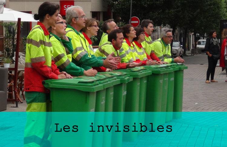 Les Invisibles / Grand maximum / Sebastian Lazennec / Theatre de rue