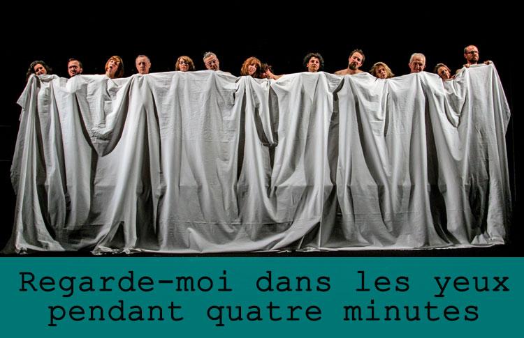 Regarde-moi dans les yeux pendant quatre minutes / Grand maximum / Sebastian Lazennec / Theatre