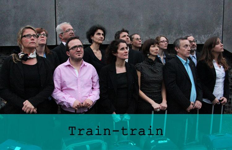 Train-train / Grand maximum / Sebastian Lazennec / Theatre de rue