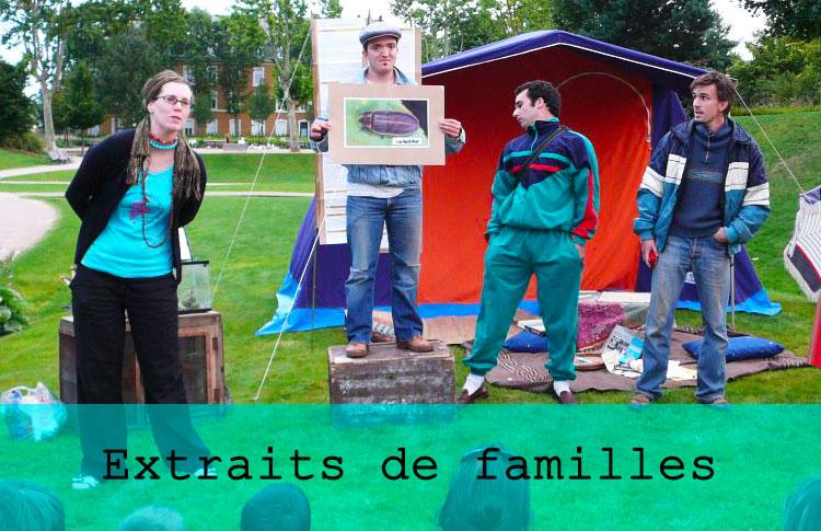 Extraits de familles / Grand maximum / Sebastian Lazennec / Theatre