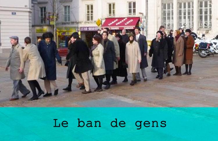 Le ban de gens / Grand maximum / Sebastian Lazennec / Theatre de rue