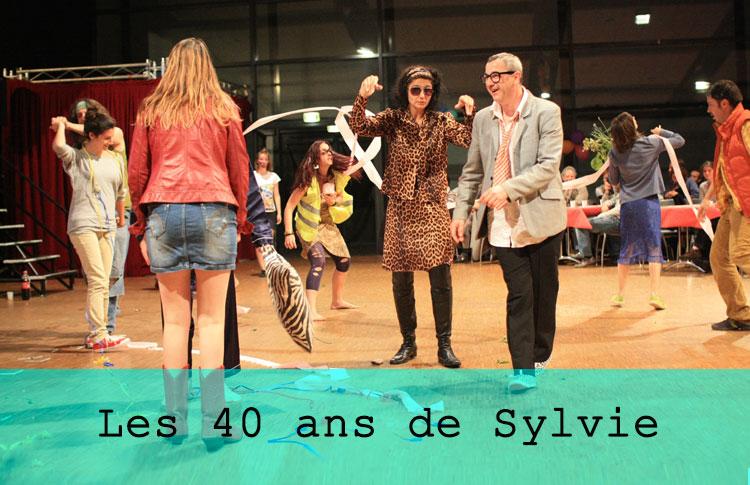 Les 40 ans de Sylvie / Grand maximum / Sebastian Lazennec / Theatre