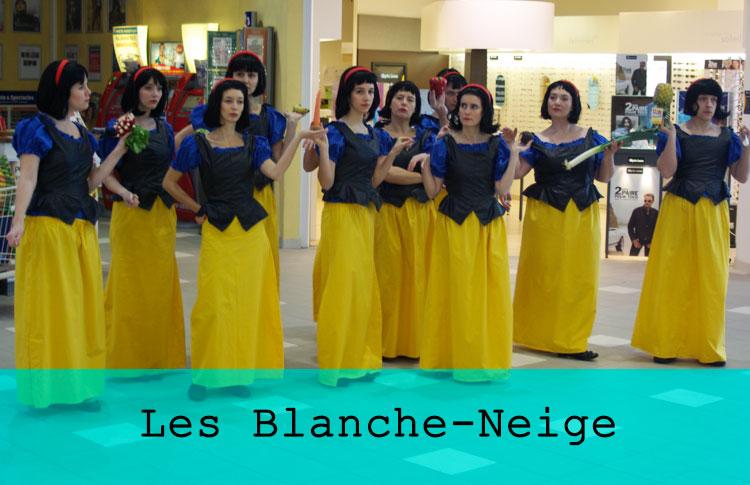 Les Blanche-Neige / Grand maximum / Sebastian Lazennec / Theatre de rue