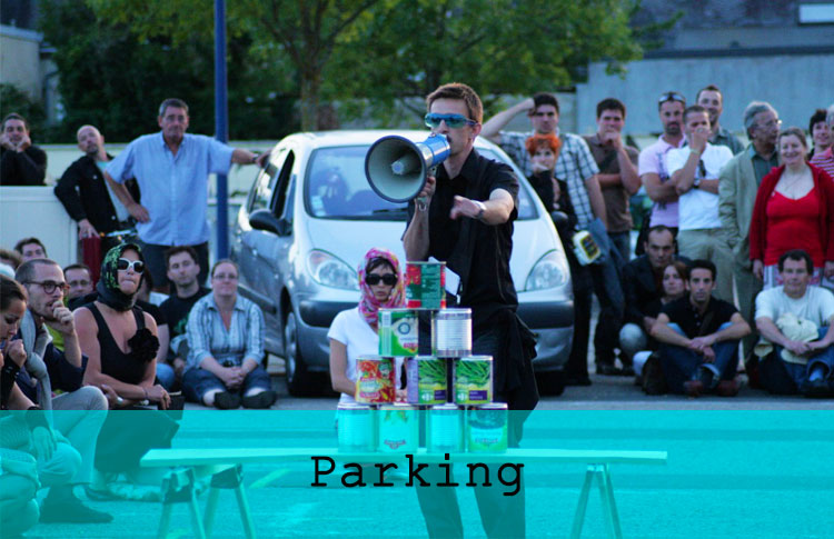 Parking / Grand maximum / Sebastian Lazennec / Theatre de parking