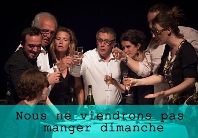 Nous ne viendrons pas manger dimanche / Grand maximum / Sebastian Lazennec / Theatre